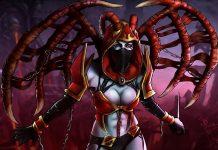 Nữ hoàng của sự đau đớn Queen of pain Dota 2