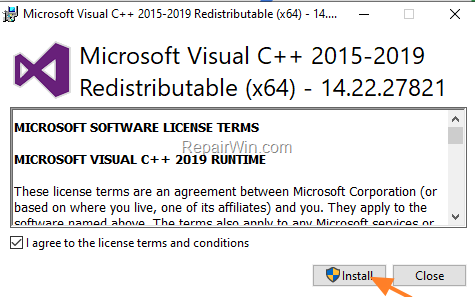download microsoft visual c++