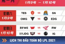 lịch thi đấu lpl 2021 chi tiết