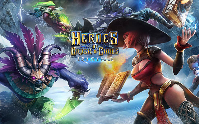 Game Heroes of Order & Chaos